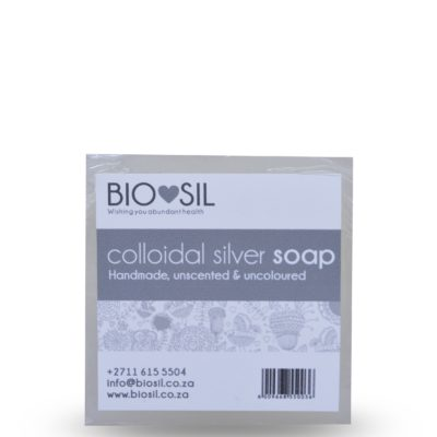 Bio-Sil Colloidal Silver Soap (NATURAL) SOAP (natural)