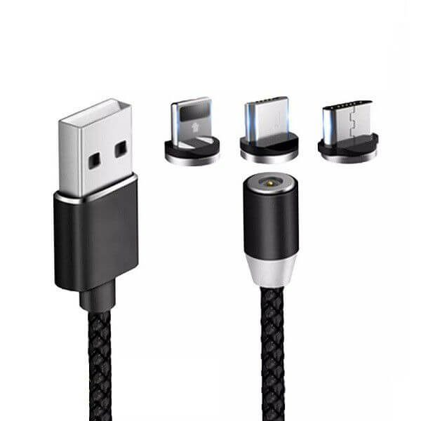 USB 3 in 1 Magnetic Charger
