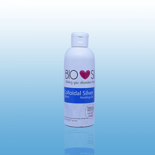 Colloidal silver healing gel (20ml)