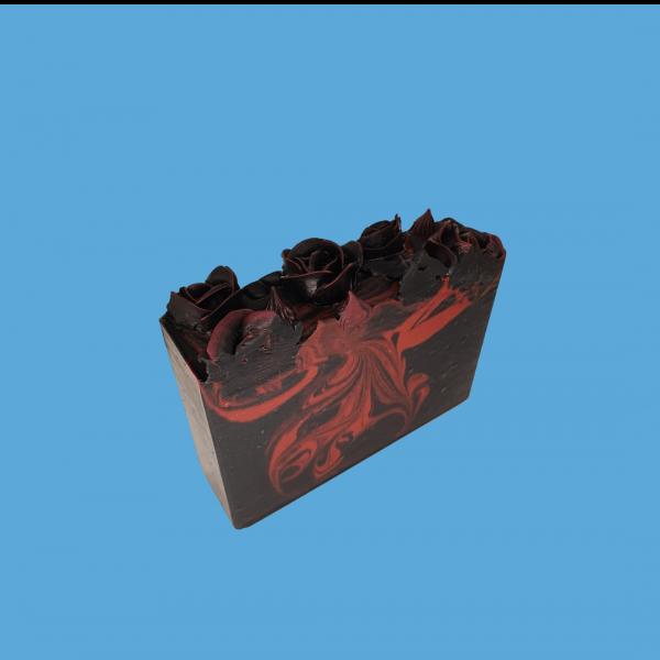 black rose soap